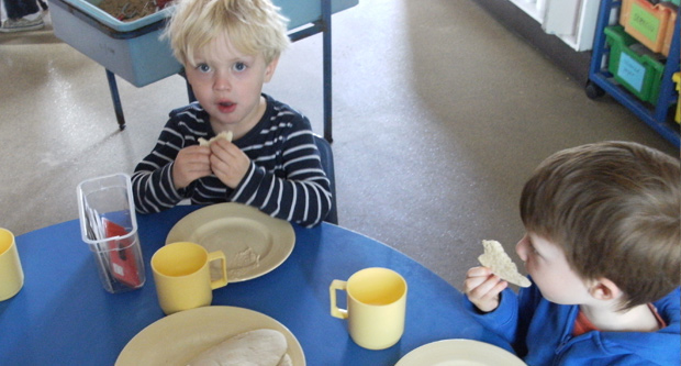 Meal Times at the Granary Nursery School